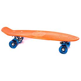 Фото 1 к товару Скейтборд Penny Cruiser Fish Line 22-K оранжевый