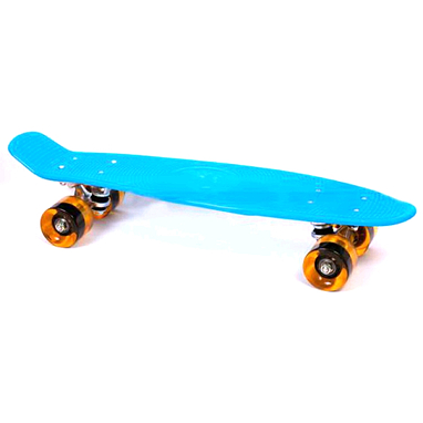 Скейтборд Penny Cruiser Fish Line 22-K голубой