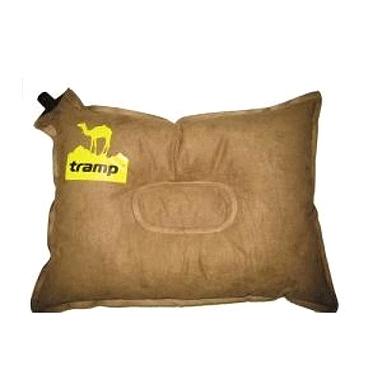 Подушка самонадувающаяся Tramp коричневая