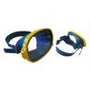 Маска для плавания Акванавт Dorfin (ZLT) синяя - фото 1