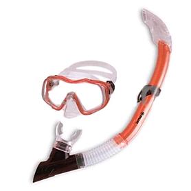 Фото 1 к товару Набор для плавания Dorfin (ZLT) детский (маска+трубка) красный