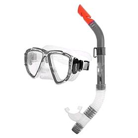Фото 1 к товару Набор для плавания Dorfin (ZLT) детский (маска+трубка) серый