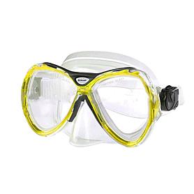 Маска для плавания Dorfin (ZLT) желтая