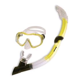 Фото 1 к товару Набор для плавания Dorfin (ZLT) детский (маска+трубка) желтый
