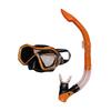 Набор для плавания Dorfin (ZLT) детский (маска+трубка) красный - фото 1