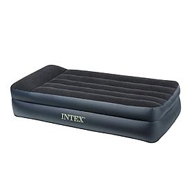 Фото 2 к товару Кровать надувная односпальная Intex 66706 (191х99х47 см)
