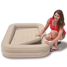 Фото 3 к товару Кровать надувная детская Intex 66810 (168x107x25 см)