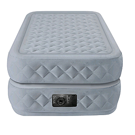 Фото 2 к товару Кровать надувная односпальная Intex 66964 (191х99х51 см)