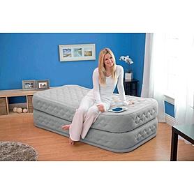 Фото 3 к товару Кровать надувная односпальная Intex 66964 (191х99х51 см)
