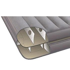 Фото 4 к товару Кровать надувная односпальная Intex 67743 (191х99х46 см)