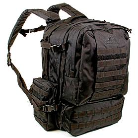 Фото 2 к товару Рюкзак тактический Red Rock Diplomat 52 Black