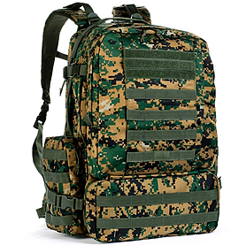 Фото 1 к товару Рюкзак тактический Red Rock Diplomat 52 Woodland Digital