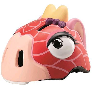 Шлем анимированный Crazy Safety 3D Жираф с фонариком