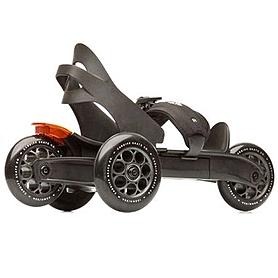 Коньки роликовые Cardiff Skate S1 черно-бронзовые