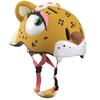 Шлем анимированный Crazy Safety 3D Леопард с фонариком - фото 2