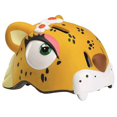 Шлем анимированный Crazy Safety 3D Леопард