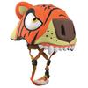 Шлем анимированный Crazy Safety 3D Тигр с фонариком - фото 2