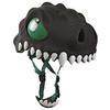 Шлем анимированный Crazy Safety 3D Черный Дракон с фонариком - фото 2
