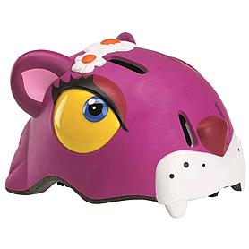 Фото 1 к товару Шлем анимированный Crazy Safety 3D Чеширский кот с фонариком