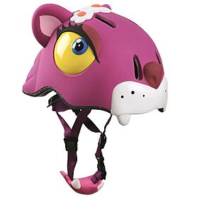 Фото 2 к товару Шлем анимированный Crazy Safety 3D Чеширский кот с фонариком