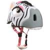 Шлем анимированный Crazy Safety 3D Зебра с фонариком - фото 2