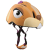 Шлем анимированный Crazy Safety 3D Белка с фонариком - фото 2