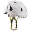 Шлем анимированный Crazy Safety 3D Дикий Череп с фонариком - фото 2