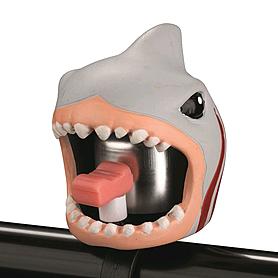 Звонок для детского велосипеда Crazy Safety Белая Акула