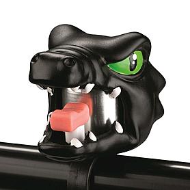 Звонок для детского велосипеда Crazy Safety Черный Дракон
