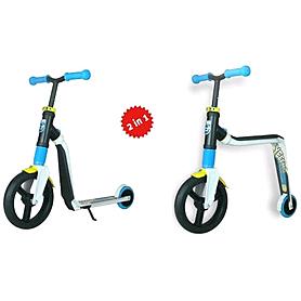 Фото 2 к товару Самокат-трансформер Scoot&Ride Highwayfreak бело-голубо-желтый