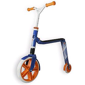 Самокат-трансформер Scoot&Ride Highway Gangster бело-голубо-оранжевый