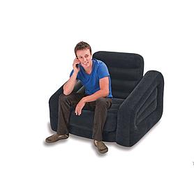 Фото 2 к товару Кресло-кровать надувное Intex 68565 (109х218х66 см)