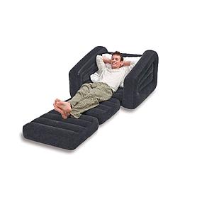Фото 3 к товару Кресло-кровать надувное Intex 68565 (109х218х66 см)
