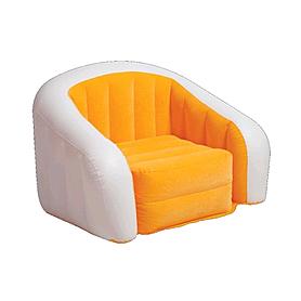 Кресло надувное Intex 68571NP (97х76х69 см) оранжевое