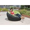 Кресло надувное Intex 68582 (112х109х69 см) зеленое - фото 2