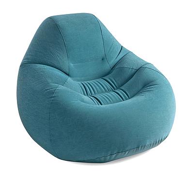 Кресло надувное Intex 68583 (122х127х81 см) темно-зеленое