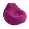 Кресло надувное Intex 68583 (122х127х81 см) бордовое - фото 1