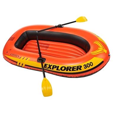 Лодка надувная Explorer 300 Set Intex 58332