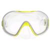 Маска для плавания Dorfin PL-265TSS желтая - фото 1
