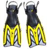 Ласты с открытой пяткой Dorfin ZP-441 желтые, размер - L-XL(42-45) - фото 1