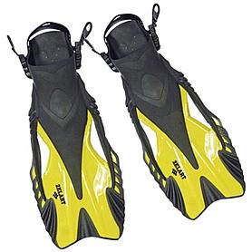 Ласты с открытой пяткой Dorfin ZP-445 желтые, размер - L-XL(42-45)