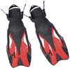 Ласты с открытой пяткой Dorfin ZP-445 красные, размер - L-XL(42-45) - фото 1