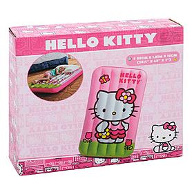 Фото 2 к товару Матрас надувной детский Hello Kitty Intex 48775 (88х157х18 см)