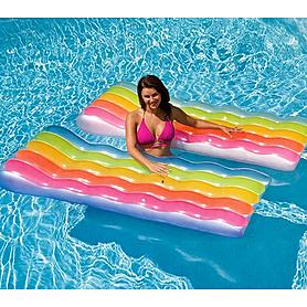 Фото 2 к товару Матрас надувной пляжный Intex