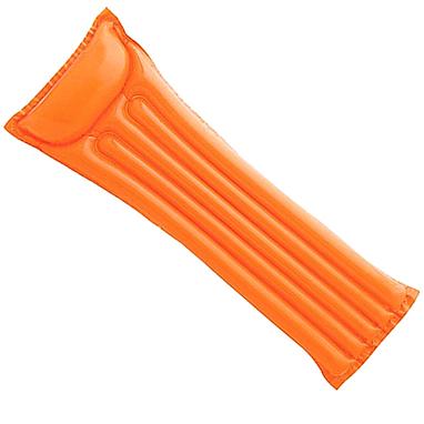Матрас надувной пляжный Intex 59703 (183x69 см) оранжевый