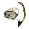 Набор для плавания Dorfin (ZLT) (маска+трубка) желтый ZP-26542-PVC-GR - фото 1