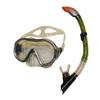 Набор для плавания Dorfin (ZLT) (маска+трубка) желтый ZP-26542-SIL-GR - фото 1