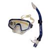 Набор для плавания Dorfin (ZLT) (маска+трубка) синий ZP-26844-SIL-BL - фото 1