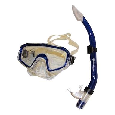Набор для плавания Dorfin (ZLT) (маска+трубка) синий ZP-26844-SIL-BL