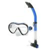 Набор для плавания детский Dorfin (ZLT) (маска+трубка) синий - фото 1